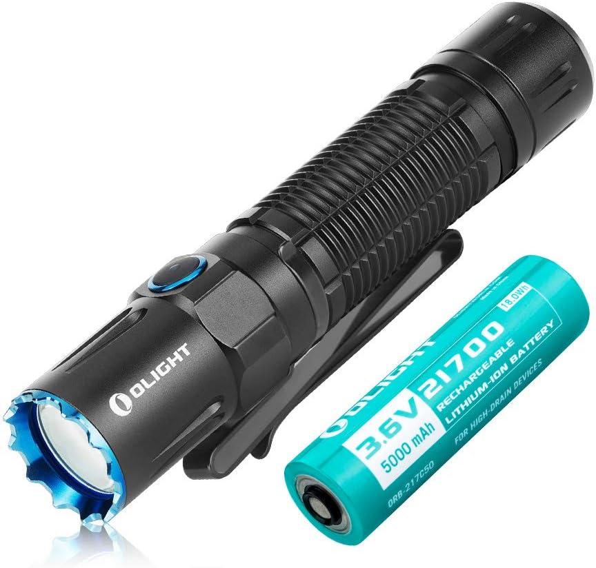 Olight M2R PRO Warrior — wiederaufladbare Taschenlampe mit 1800 Lumen