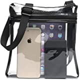 Clear Bag, F-color Clear Stadium Bag NFL, BTS Approved Concert Purse for Women