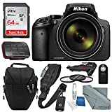 Cheap Nikon COOLPIX P900 Digital Camera with 83x Optical Zoom + Built-in Wi-Fi + Accessory Bundle with 64GB and More