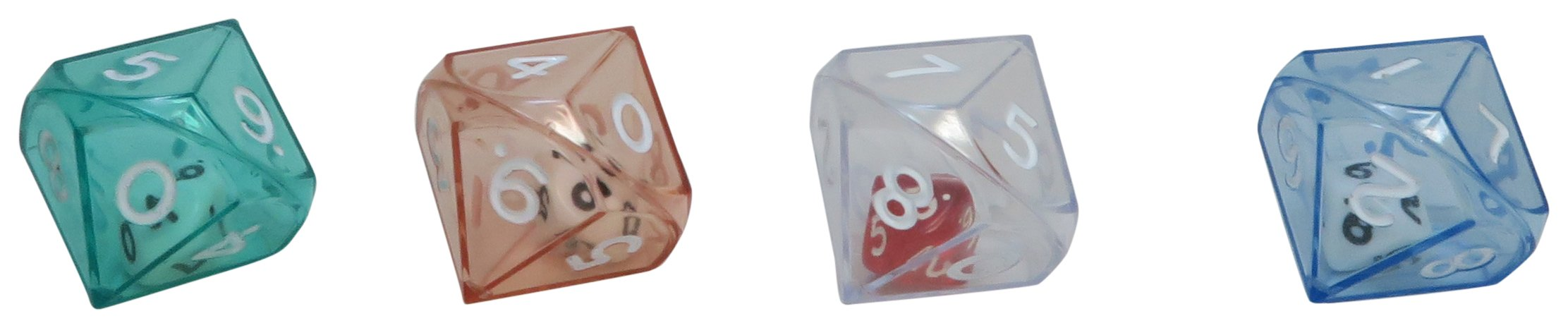 Image mission wood mirror company Dice 10 Surface TRO (4 Pieces) KGS 3250