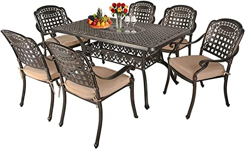TITIMO 7-Piece Outdoor Furniture Dining Set