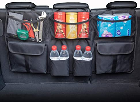 voiture COFFRE Organisateur bien rangé de stockage Sac de rangement avec poche