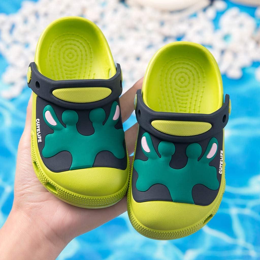 TTLOVE Baby Jungen M/ädchen Clogs Strand Sandalen S/ü/ße Cartoon Hausschuhe Sommer Schuhe Kleinkind Gartenschuhe Atmungsaktiv rutschfest Strand Hausschuhe