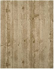 York Wallcoverings ET2043SMP Enchantment Hollywood Wallpaper Memo Sample, 8-Inch x 10-Inch, Champagne, Taupe