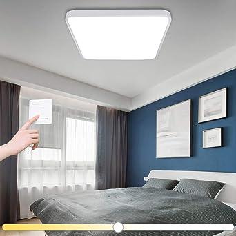 50W LED Deckenleuchte Dimmbar Wohnzimmer Schlafzimmer Flur Küchen Ess lampe