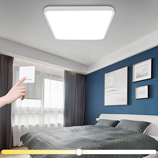 VINGO 50W quadrata LED Regolabile plafoniera moderno lampada da ...