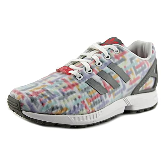 Adidas Zx Flux Print Gradeschool Kid's Shoes Size 4.5