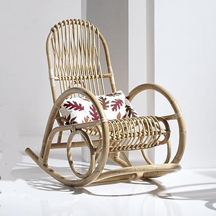 Relax silla columpio sillas de mimbre DONAMAR mecedora sillón de ...
