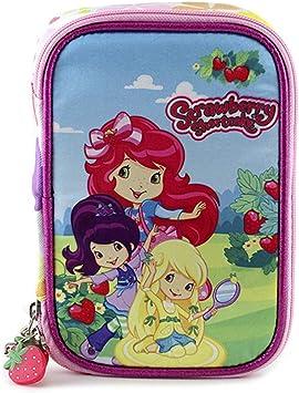 Strawberry Tarta de Fresa 09943 - Estuche de lápices Completo, diseño jardín: Amazon.es: Equipaje