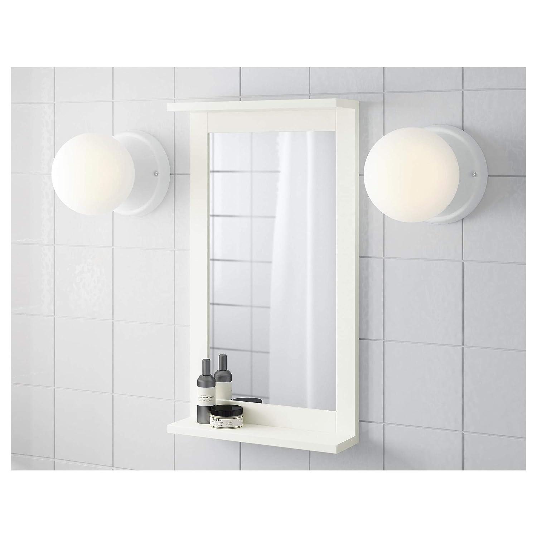 Amazon.com: IKEA.. 302.680.02 Silverån - Espejo con estante ...