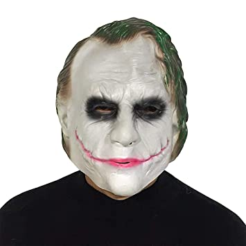 The Joker Mask Adult Halloween Costume Fancy Dress