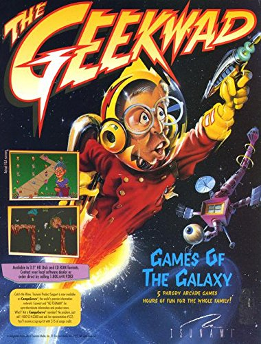 Tsunami The Geekwad Games Of The Galaxy MS-DOS 3.5 HD - Dos Ms Games