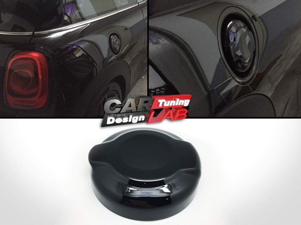 Black Fuel Gas Oil Tank Cap Overlay Cove For 2014 and up S models F54 F55 F56 F57 F58 F59 Mk3 1