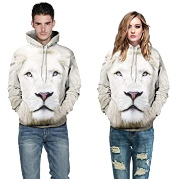 5237711a1 Amazon.com  gLoaSublim Couple Hoodies