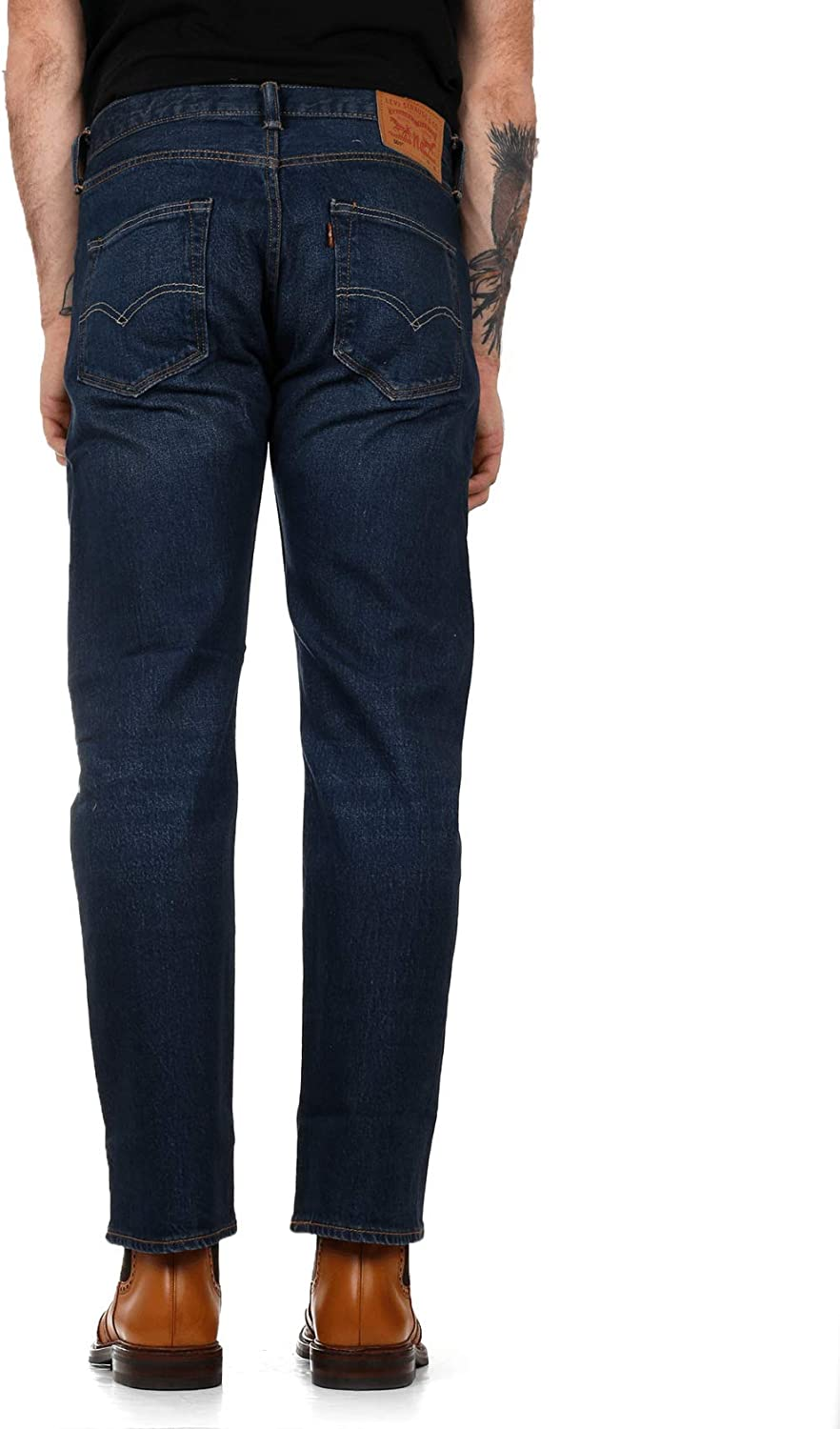 Levi's Men's 501-original Fit' Jeans Blue Mad Str