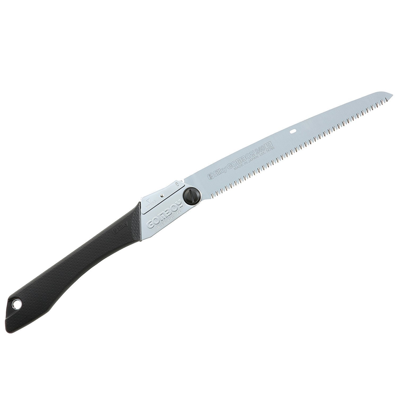Silky Gomboy 240 Folding Landscaping Saw, Medium Teeth 121-24 (Reasonable set)