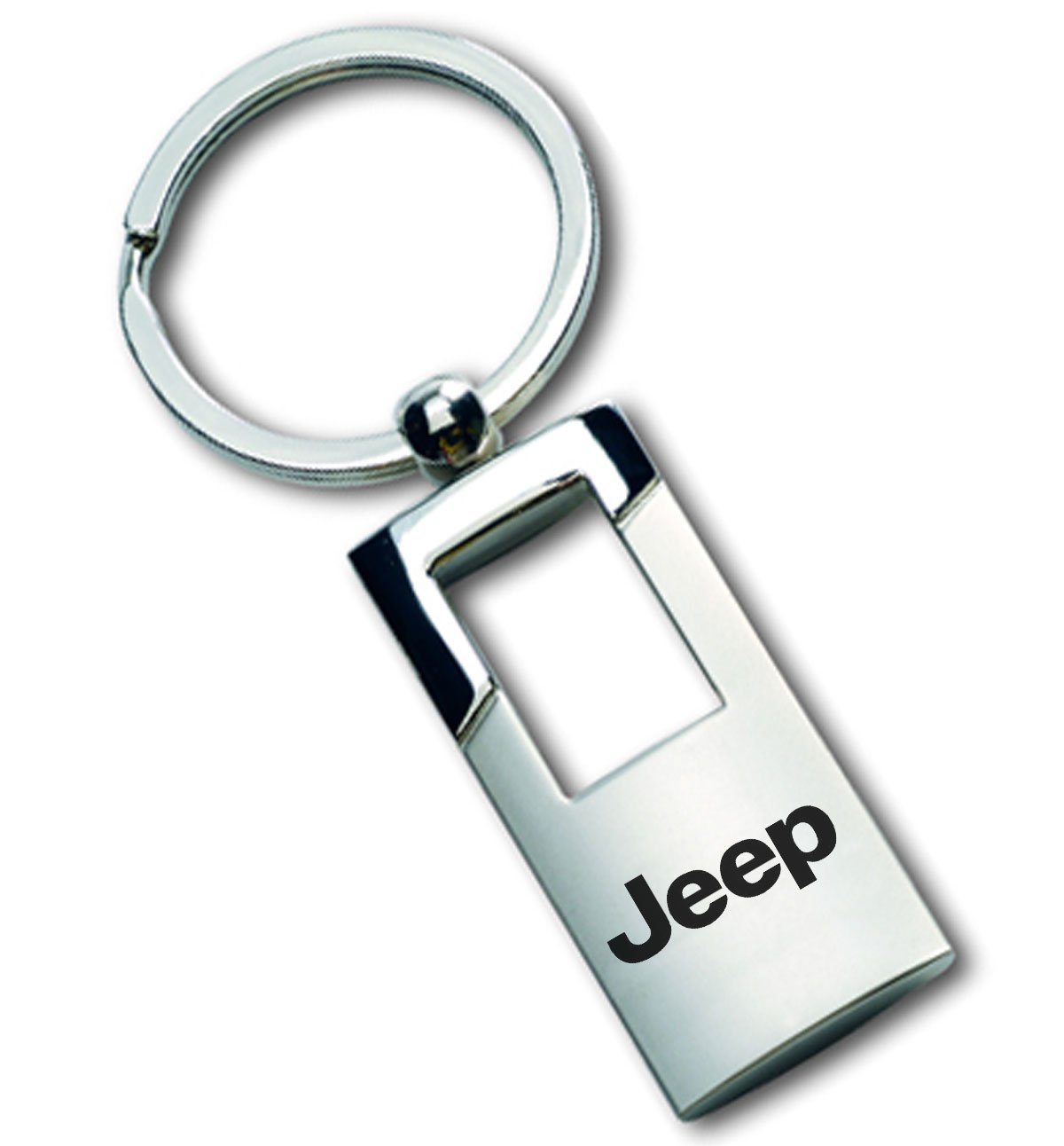 Ford Logo BLACK LEATHER Keychain Chrome Key Fob Metal Key Ring Lanyard Racing