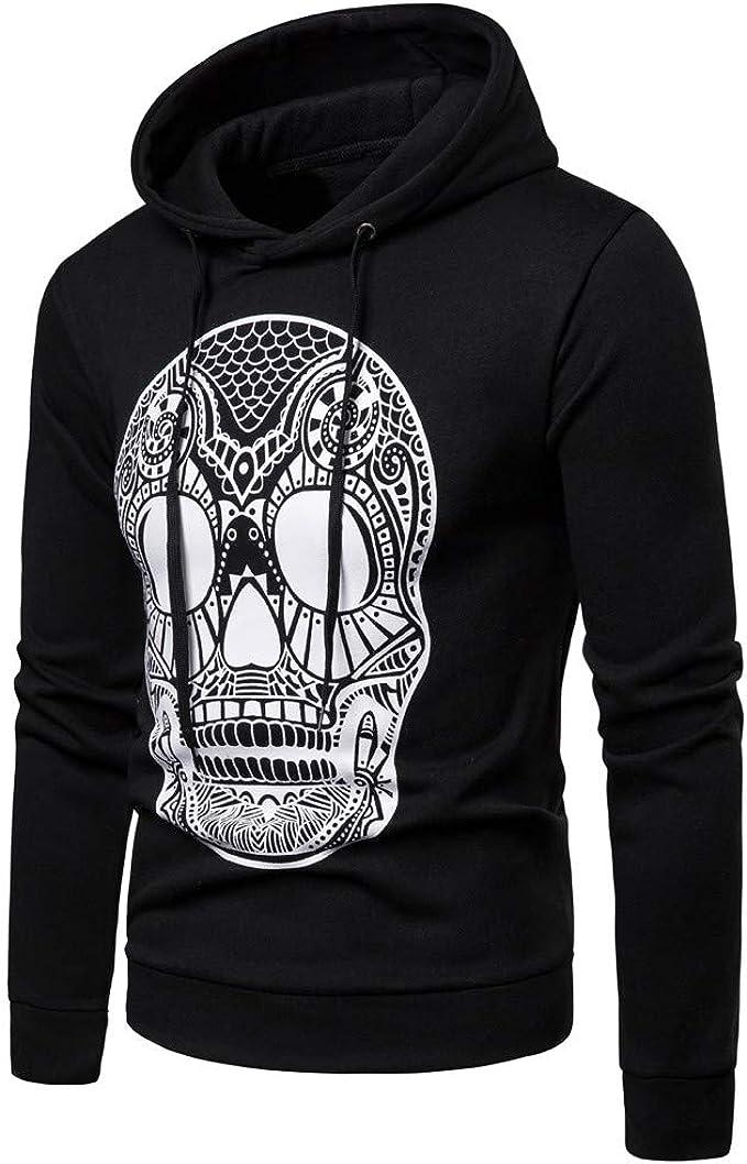 VPASS Jersey para Hombre Sudaderas con Capucha Impresas Unisex con Bolsillos Jersey de Punto suéter Impreso Arte Suéter Básica con Bolsillo Ajustado ...