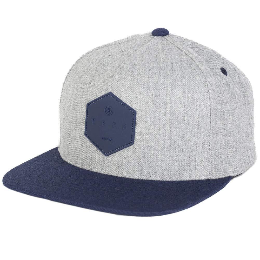2254b5824d7 NEFF Men s Y Snapback Custom Fitted Hats Adjustable Black Gum One Size  18P00014