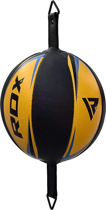 Boxbirne Speedball Boxen Punchingball Leder Doppelendball Double End Haken