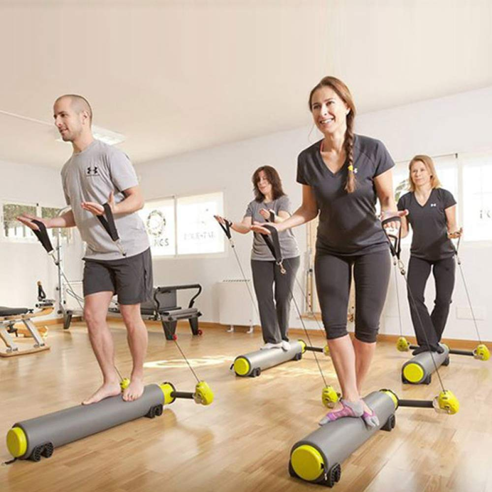 WEI Yoga Fitnessgeräte Pilates Multifunktionale Trainingsgeräte Multifunktions Motr Pilates Gleitbett Yoga Core Bett,Bild,Einheitsgröße