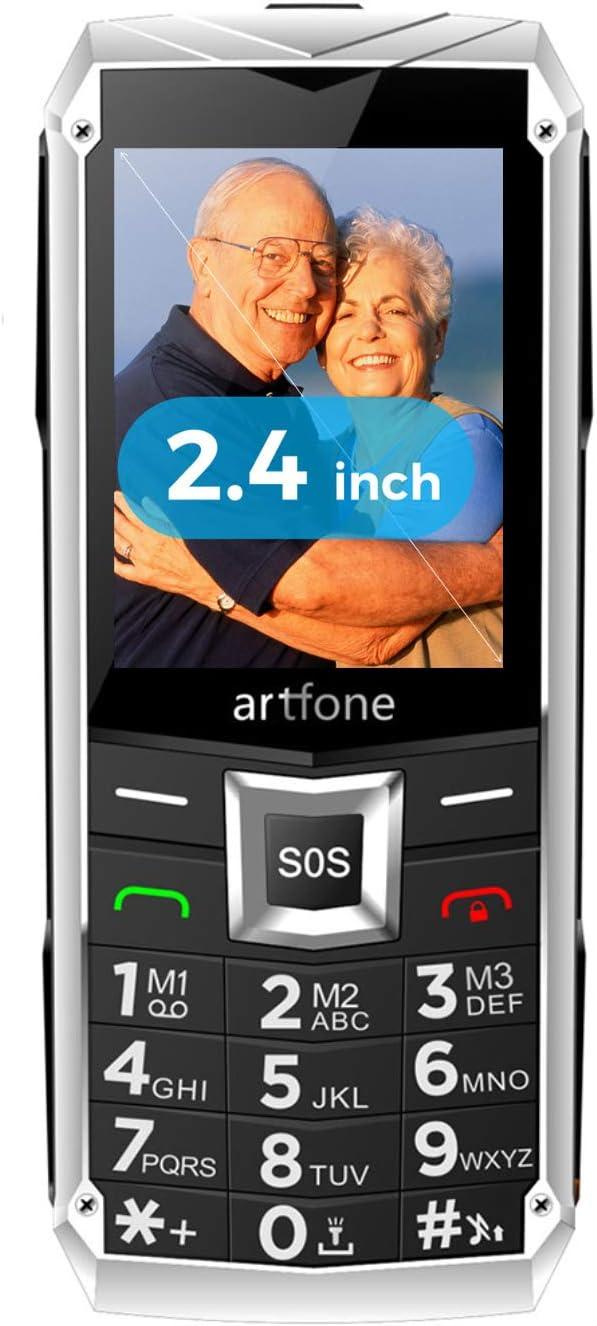 Teléfonos Móviles para Mayores con Teclas Grandes, artfone C3 ...