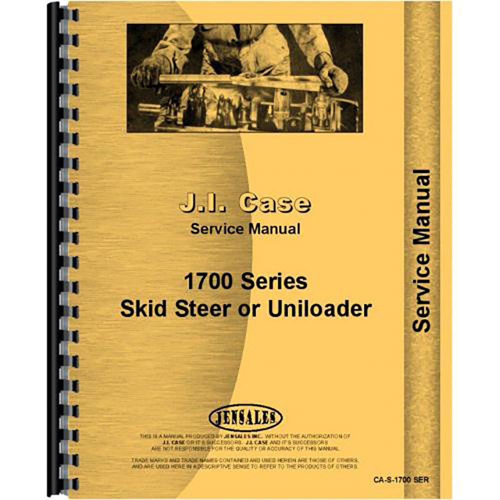 Case 1700 1737 Skid Steer Service Manual: Amazon.com: Industrial &  Scientific