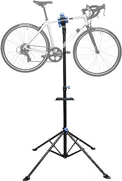 Hengda Soporte Caballete de reparación de Bicicletas Soporte de Reparar Bici Altura Ajustable,Soporte para Reparar Bicicleta Girando hasta 360 °,Herramienta Grande Portátil Compacto Estable: Amazon.es: Deportes y aire libre