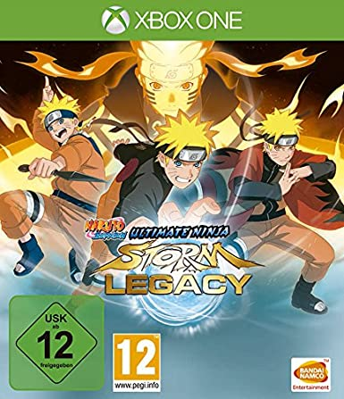 Naruto Shippuden Ultimate Ninja Storm Legacy Special Edition ...