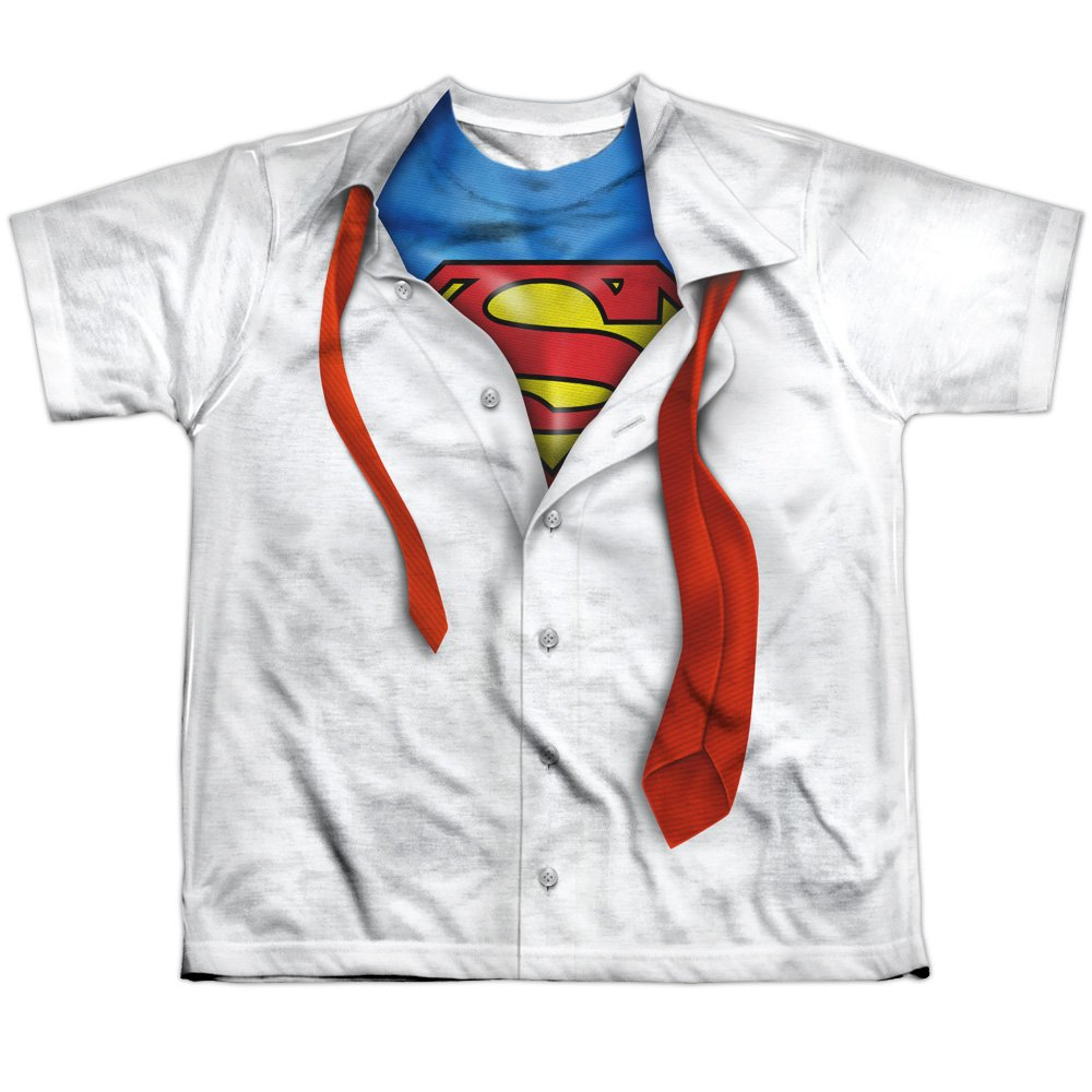 TeeShirtPalace Sublimation Youth: Superman - Tie Costume All Over Print T-Shirt
