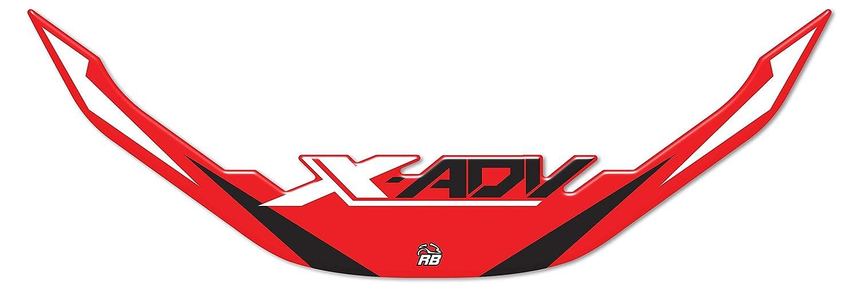Honda X-adv Adhé sif Ré sine Protection Pare-brise - Rojo ResinBike IF_BF32DE27-12