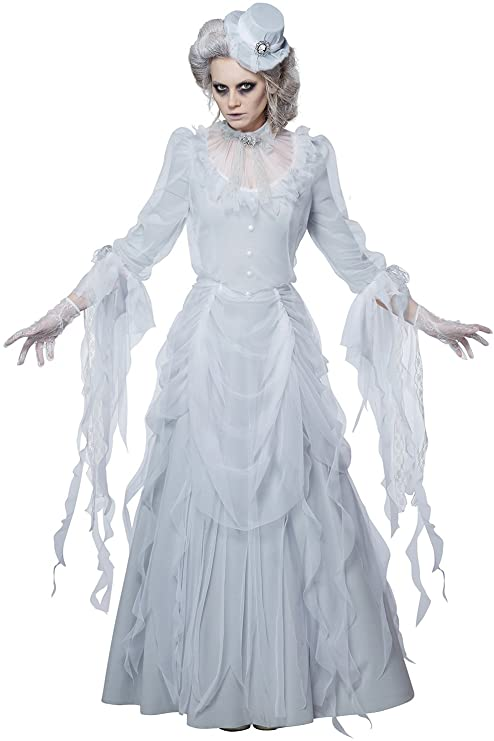 Victorian Costumes: Dresses, Saloon Girls, Southern Belle, Witch California Costumes Womens Haunting Lady Costume $59.95 AT vintagedancer.com