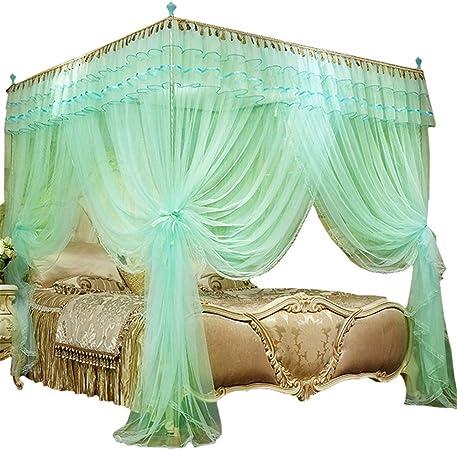 AIMCAE Moustiquaire, lit à baldaquin Adulte et Fille, Style ...