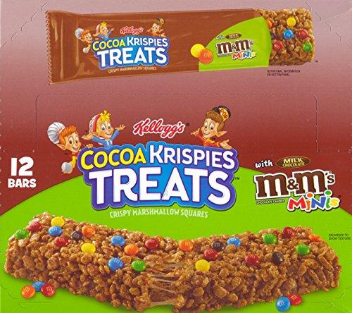 Rice Krispies Treats M&M'S Chocolate Candies Minis Square with Milk Chocolate Candies. 12 - 1.94 Oz (Milk Chocolate Lollipop)
