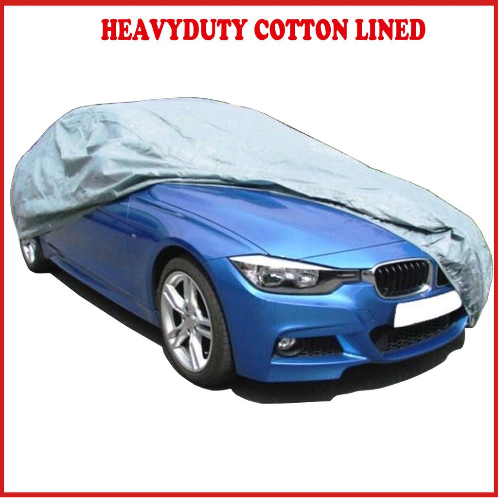 LAND ROVER DEFENDER 90 LUXURY FULLY WATERPROOF CAR COVER COTTON LINED