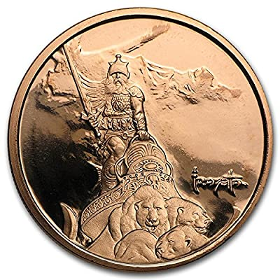1 oz Copper Round Warrior Frank Frazetta: Everything Else