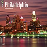 Philadelphia 2018 12 x 12 Inch Monthly Square Wall Calendar, USA United State of America Pennsylvania Northeast City