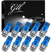 Grandview 10pcs 24V Azul T10 501 Bombillas LED