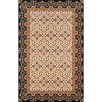 Momeni Rugs PERGAPG-09CHR2030 Persian Garden Collection, 100% New Zealand Wool Traditional Area Rug, 2 x 3, Charcoal