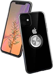 cover iPhone 11 with ring holder transparent