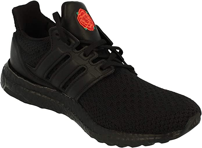 Amazon Com Adidas Ultraboost X Manchester United Fc Mens Trainers Sneakers Uk 6 5 Us 7 Eu 40 Black Red Eg8088 Fashion Sneakers