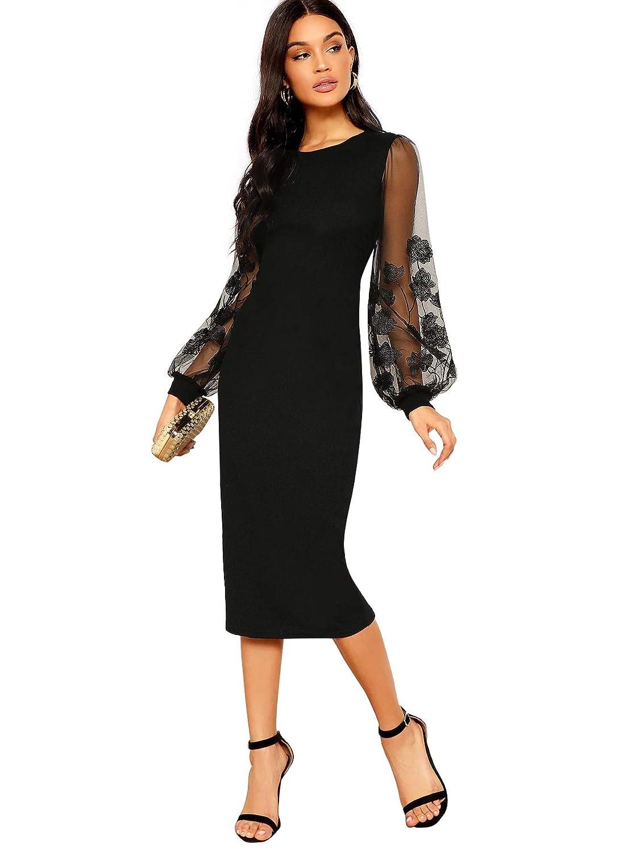 SOLY HUX Robe en Maille pour Femme
