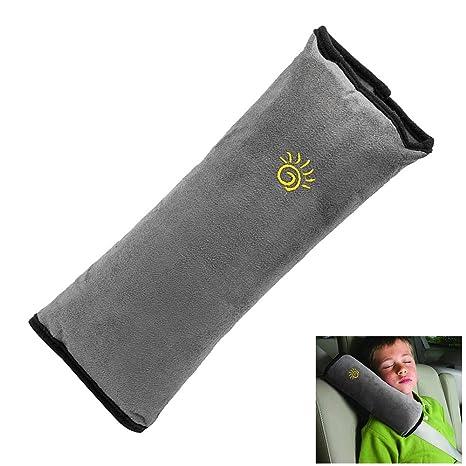 Surfmall Almohadillas Cinturón de Seguridad Descoser del Coche Automóvil Desmontable Suave Cómodo Protección Hombro Cojín Amortiguador Vehículo Ajuste ...