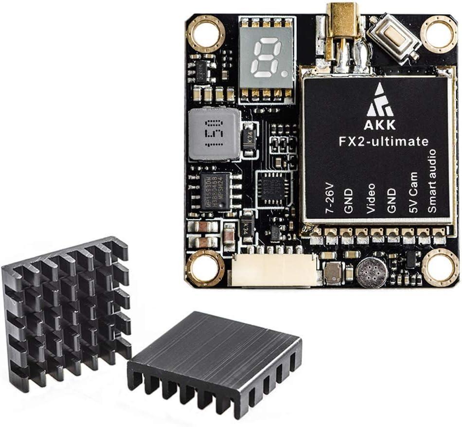 AKK FX2-ultimate 5.8GHz VTX with MMCX Support OSD Long Range FPV Transmitter