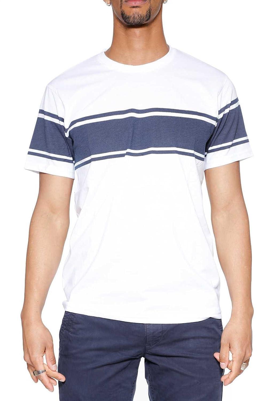 Everlast 24m276j73 Mens Jersey T-Shirt - White / Navy Blue ...