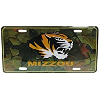 Game Day Outfitters NCAA Missouri Tigers Auto Nummernschild