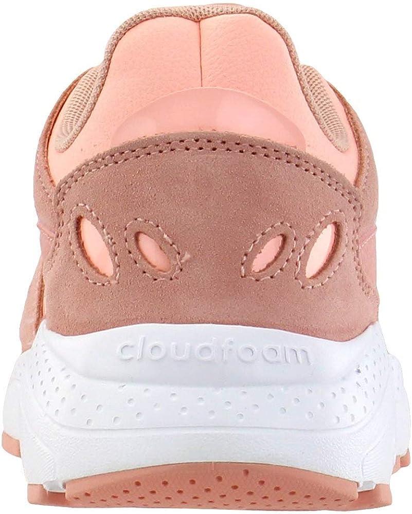 adidas Damen CrazyChaos Fashion Sneakers Dust Pink/Clear Orange/Cloud White Dust Pink Clear Orange Cloud White