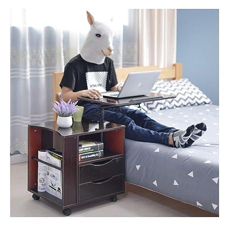 MIAOLULU Ordenador portátil Mesa Escritorio con cajón ...