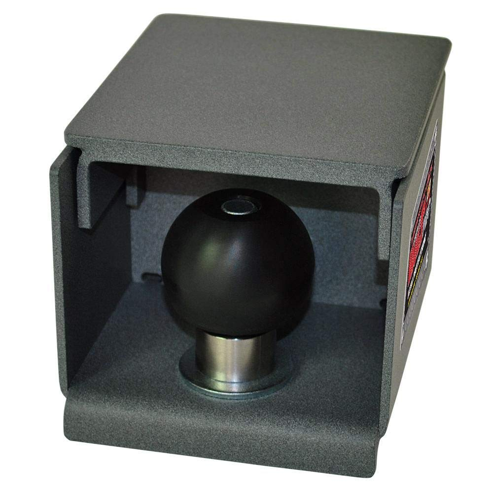 MegaHitch Lock Coupler Vault Pro with 2 5/16'' ball (Rock Gray) by MegaHitch Lock Coupler Vault