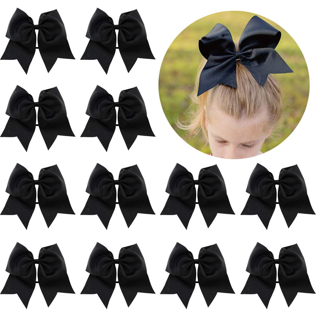 best loved stable quality store 12 Pcs Large Cheer Bows 8